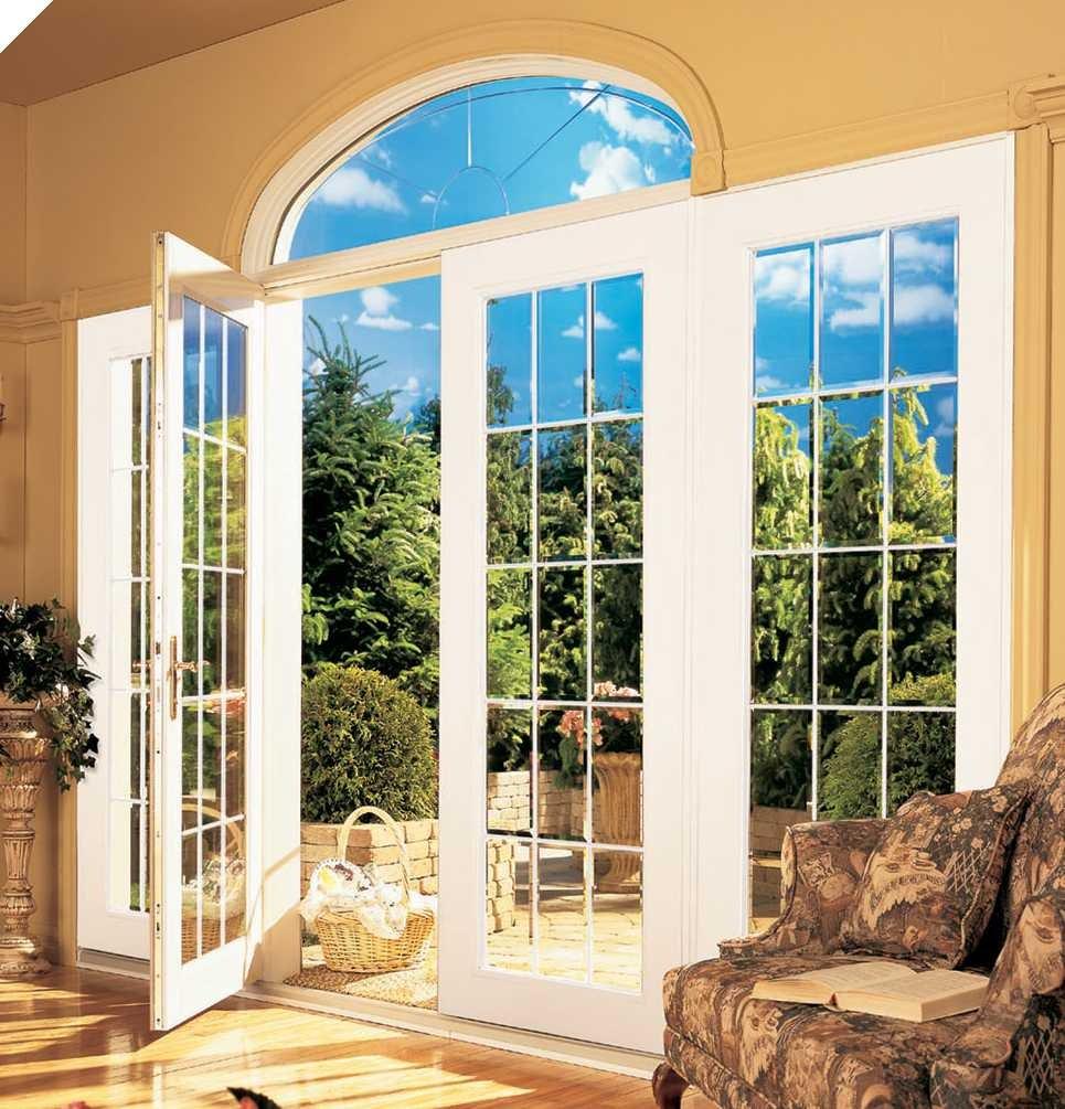 Окна во французском стиле