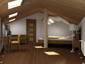 Для того, чтобы ваш чердак стал тёплым жилым помещением, нужно провести большую работу по теплоизоляции.