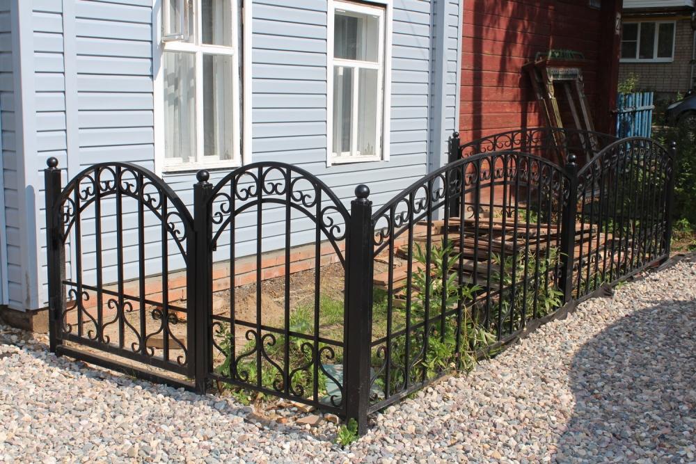Ограда для палисадника своими руками 41