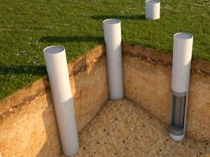 Асбестовые трубы для фундамента. Область применения