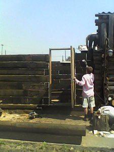 Для строительства бань чаще всего выбирают столбчатый фундамент.