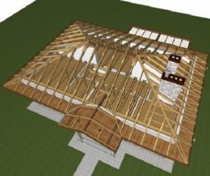 Четырехскатная крыша своими руками. Виды