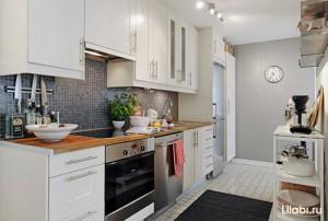 Дизайн белой кухни. Подбор оттенков