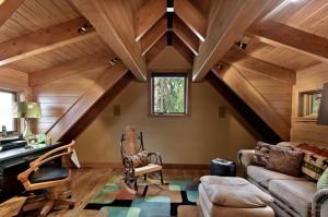 Дом с мансардой – кладезь идей по оформлению интерьера