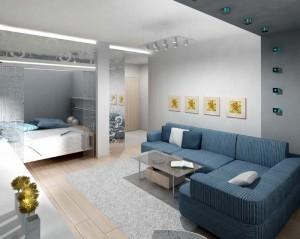 Эти простые базовые советы помогут Вам сделать дизайн маленькой двухкомнатной квартиры функциональным и стильным.
