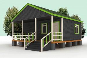 Если в проект вашего дома не заложена терраса, это очень легко исправить