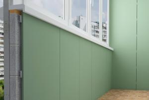 Гипсокартон на балконе может быть установлен только на стены и потолок, для выравнивания пола подойдет гипсоволокнистый лист и его модификации
