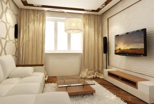 В зависимости от имеющихся в распоряжении квадратных метров, можно уже понять каким будет интерьер двухкомнатной квартиры