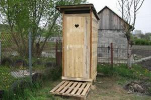 А когда она заполняется, вопрос «как почистить туалет на даче» встает очень остро