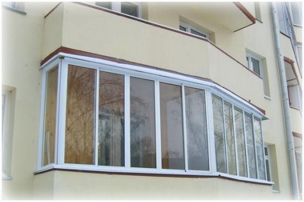 Остекление балконов пластиком - немного строим сами!.