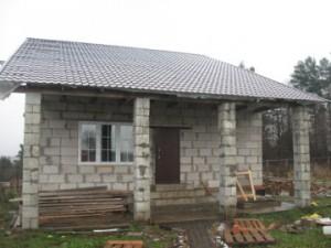 Проекты дачных домов из пеноблоков. Преимущества