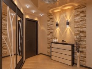 Ремонт коридора в панельном доме – как увеличить пространство
