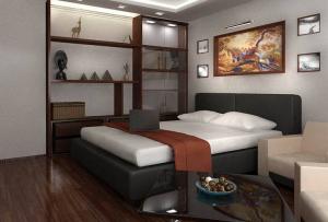 Лучшими материалами, которыми осуществляется ремонт спальни своими руками, являются обои, декоративная штукатурка