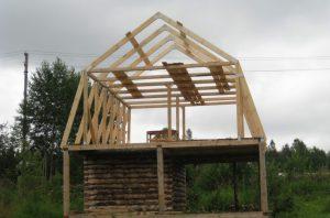 На этом этапе необходимо определиться с основными размерами и выбрать подходящий чертеж крыши.