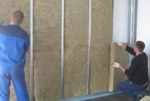 Самым оптимальным вариантом монтажа минеральной ваты является утепление стен изнутри минватой плюс гипсокартон