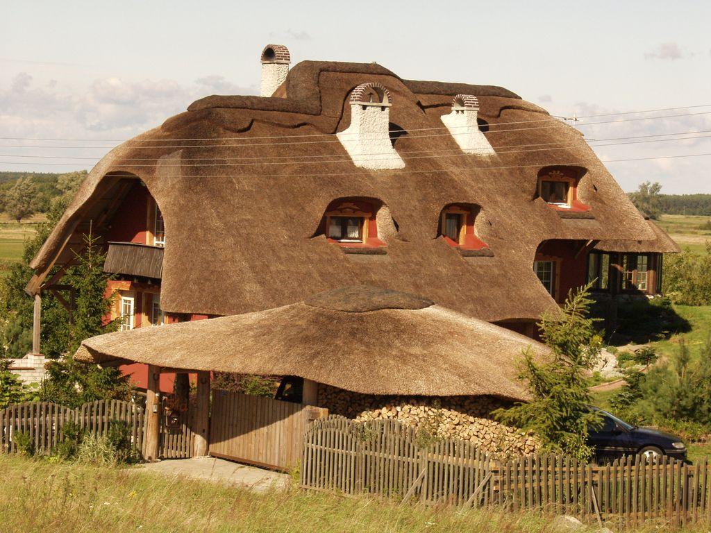 Дом из камыша своими руками 12