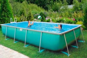 Каркасный бассейн для дома
