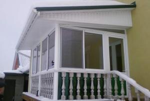 Хорошо утепленный балкон, можно использовать не только для хранения вещей
