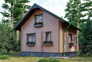 Многие могут подумать, что построить дачный дом с мансардой не так просто.