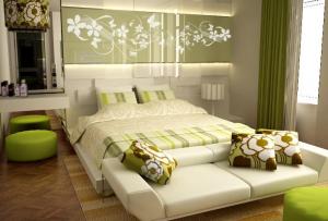 Декор для спальни — это также и освещение