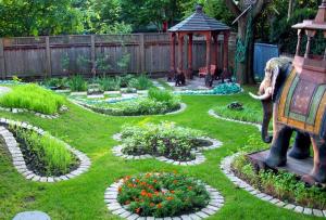Ландшафтный дизайн дачного участка занимает умы большинства современных дачников.