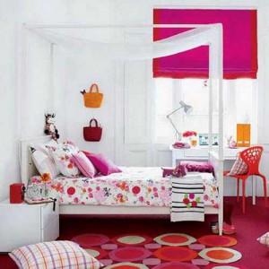 Дизайн комнаты для молодой девушки – экономим место