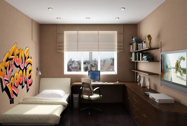 Интерьер для комнаты подростка мальчика 12 кв.м фото