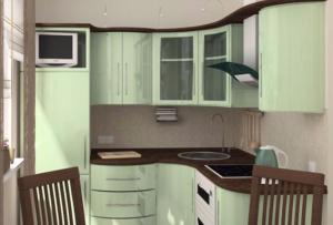 Дизайн кухни в хрущевке — головная боль большинства домохозяек нашей страны.