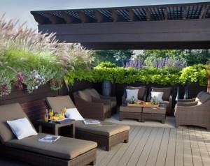 Загородные дома с террасой – дизайн террасы к дому