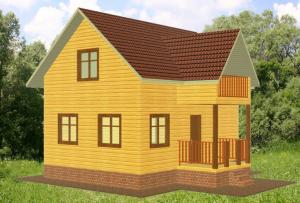Фундамент к веранде стоит устанавливать такого же типа, как и к основному строению, это позволит избежать деформирования постройки