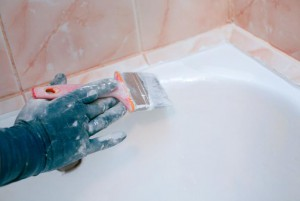 Ремонт эмали ванны своими руками