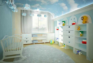 Интерьер в детской комнате — дело для родителей очень ответственное