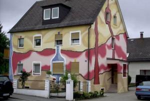 как покрасить стены снаружи