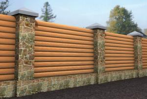 Перед тем, как сделать забор из дерева, посмотрите, какие существуют вариации