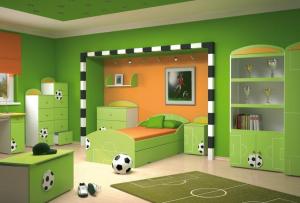 Комната для мальчика должна соответствовать его увлечениям и образу жизни.