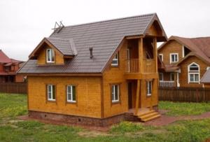 Как и другие деревянные постройки, коттеджи из бруса имеют низкую теплопроводность