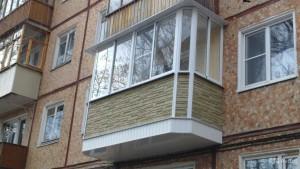 Остекление утепление балконов