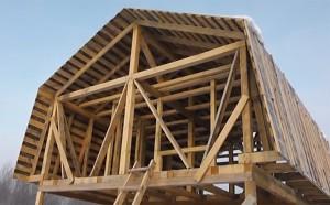 Крыша с мансардой или крыша-мансарда своими руками