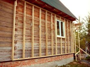 Утепление бревенчатого дома снаружи