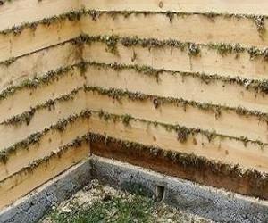 Утепление бани из бруса изнутри осуществляется, как правило, при строительстве