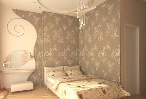 Одним из методов — это дизайн квартир обои в которых комбинируются