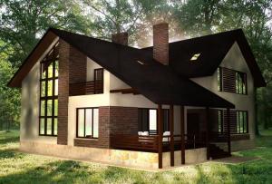 Итак, какими же материалами может быть осуществлена отделка частного дома?