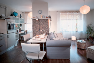 Варианты перепланировки однокомнатной квартиры Вам могут предложить профессиональные дизайнеры