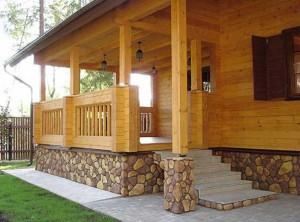 пристроить крыльцо к деревянному дому