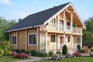 Как самому построить дом из бруса