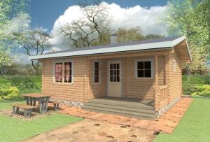 фундамент в проекты дачных домов можно закладывать легкий.