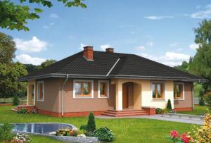 Проекты одноэтажных домов не требуют глубокого фундамента