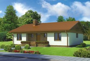 Террасы и гаражи отлично дополняют проекты одноэтажных домов