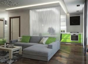 Межкомнатные стеклянные перегородки легко и эстетично исправят положение, придав вашему дому стильный вид