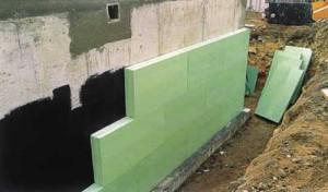 Утепление стен подвала – утепляем внутри